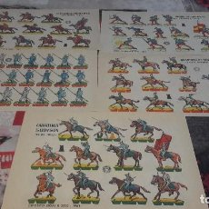 Coleccionismo Recortables: LOTE DE DIEZ RECORTABLES. Lote 183606737