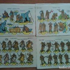 Coleccionismo Recortables: 1959 SERIE LILIPUT - EDICIONES LA TIJERA - COMPLETA 16 RECORTABLES. Lote 194281573