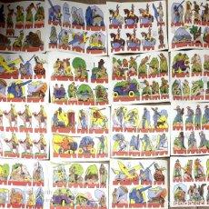 Coleccionismo Recortables: LAMINAS RECORTABLES ROSITA. EDITORIAL ROMA. 16 SERIES DIFERENTES. BARCELONA.. Lote 187581625
