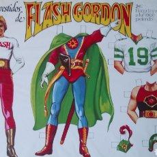Coleccionismo Recortables: LOS VESTIDOS DE FLASH GORDON Y AURA. RECORTABLES. AÑO 1980.. Lote 190322113