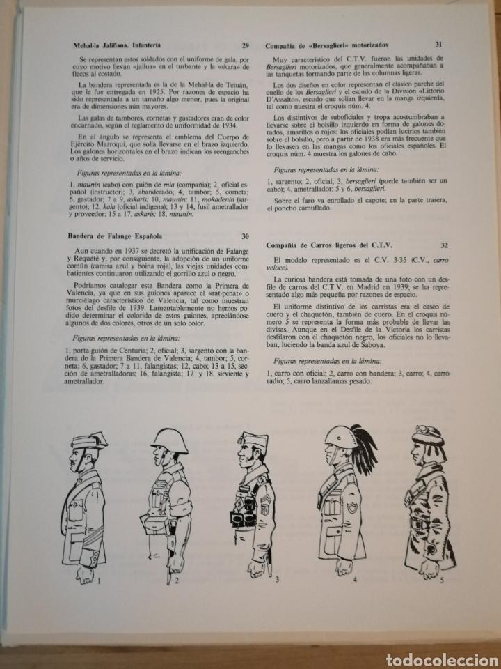Coleccionismo Recortables: Carpeta recortables el ejercito español en parada, 1era serie n° 4 y 2 laminas extras de regalo - Foto 4 - 190623241