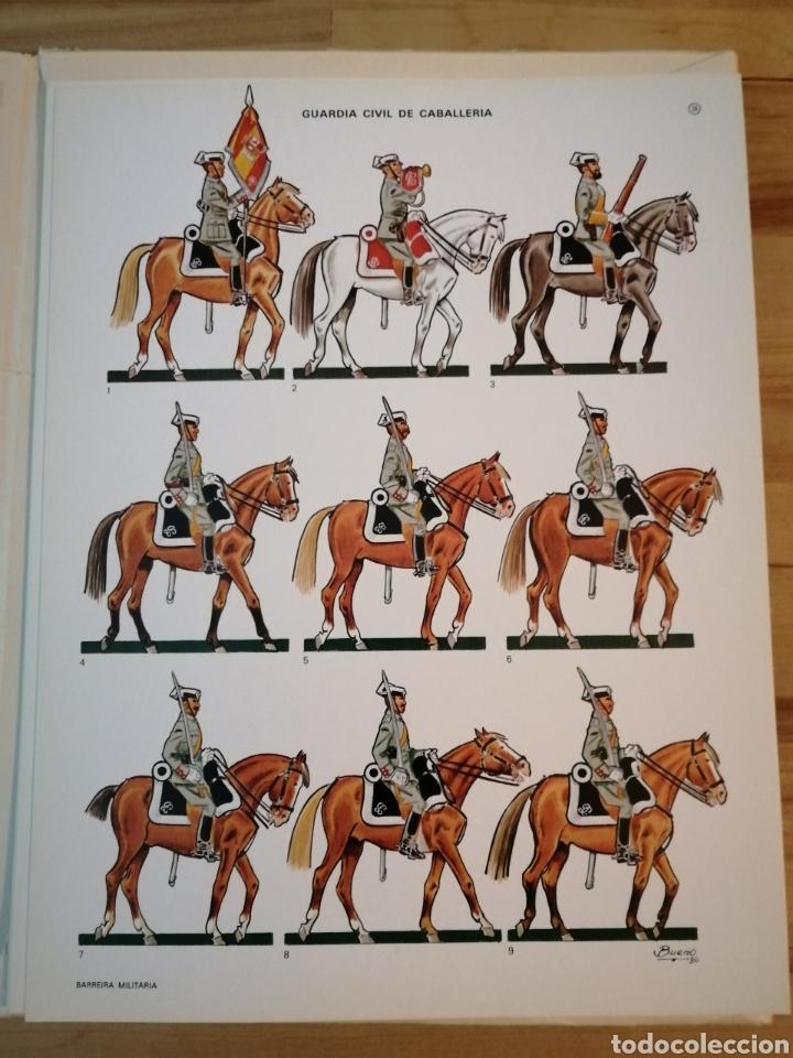 Coleccionismo Recortables: Carpeta recortables el ejercito español en parada, 1era serie n° 4 y 2 laminas extras de regalo - Foto 6 - 190623241