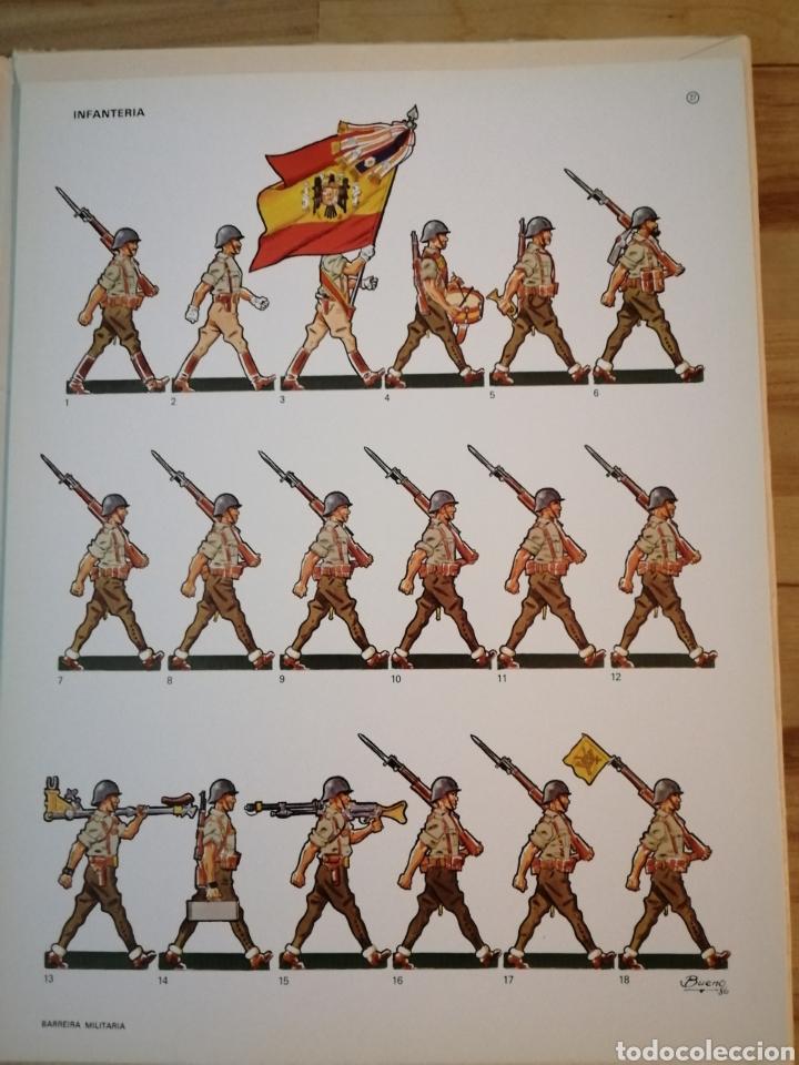 Coleccionismo Recortables: Carpeta recortables el ejercito español en parada, 1era serie n° 4 y 2 laminas extras de regalo - Foto 7 - 190623241