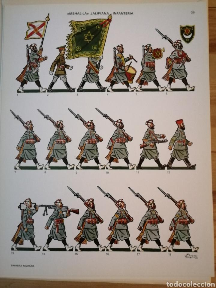 Coleccionismo Recortables: Carpeta recortables el ejercito español en parada, 1era serie n° 4 y 2 laminas extras de regalo - Foto 9 - 190623241