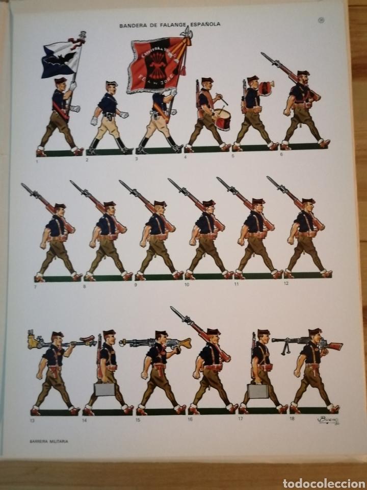 Coleccionismo Recortables: Carpeta recortables el ejercito español en parada, 1era serie n° 4 y 2 laminas extras de regalo - Foto 10 - 190623241