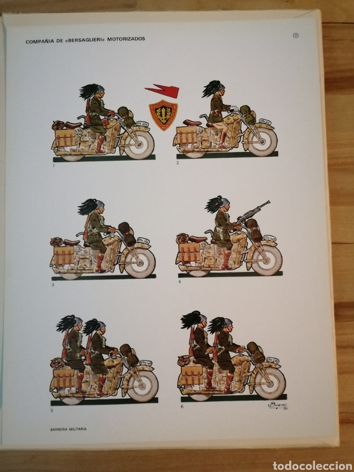 Coleccionismo Recortables: Carpeta recortables el ejercito español en parada, 1era serie n° 4 y 2 laminas extras de regalo - Foto 12 - 190623241