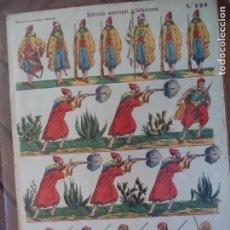 Coleccionismo Recortables: ESTAMPERIA ECONOMICA PALUZIE EJERCITO MARROQUI.INFANTERIA Nº 429. Lote 192548251