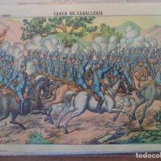Coleccionismo Recortables: LIT DE HIJOS DE PALUZIE CARGA DE CABALLERIA Nº 347. Lote 192552871