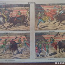 Coleccionismo Recortables: LIT DE PALUZIE TOROS Nº 375. Lote 192552973