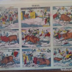 Coleccionismo Recortables: LIT DE PALUZIE TOROS Nº 374.SOBRE CARTULINA. Lote 192552997