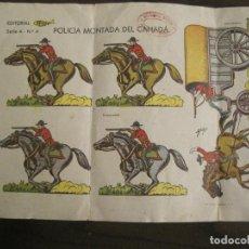 Coleccionismo Recortables: RECORTABLES-POLICIA MONTADA DEL CANADA-EDITORIAL FESUVI-VER FOTOS-(V-19.044). Lote 194313605
