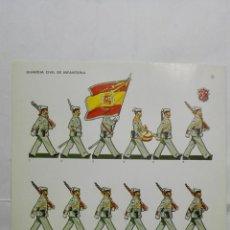 Coleccionismo Recortables: RECORTABLES, GUARDIA CIVIL DE INFANTERIA - BARREIRA MILITARIA, Nº 25. Lote 194515697