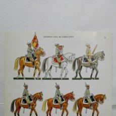 Coleccionismo Recortables: RECORTABLES, GUARDIA CIVIL DE CABALLERIA - BARREIRA MILITARIA, Nº 26. Lote 194515778