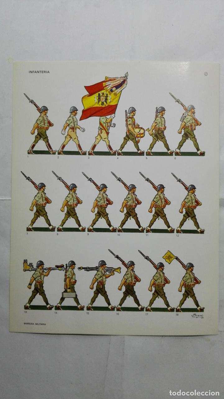 RECORTABLES, INFANTERIA - BARREIRA MILITARIA, Nº 27 (Coleccionismo - Recortables - Soldados)