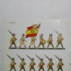 Coleccionismo Recortables: RECORTABLES, INFANTERIA - BARREIRA MILITARIA, Nº 27. Lote 194515867