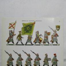 Coleccionismo Recortables: RECORTABLES, MEHAL-LA - JALIFIANA, INFANTERIA - BARREIRA MILITARIA, Nº 29. Lote 194516016