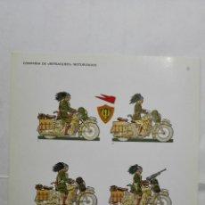 Coleccionismo Recortables: RECORTABLES, COMPAÑIA DE BERSAGLIERI, MOTORIZADOS - BARREIRA MILITARIA, Nº 31. Lote 194516230