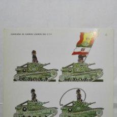 Coleccionismo Recortables: RECORTABLES, COMPAÑIA DE CARROS LIGEROS DEL C.T.V. - BARREIRA MILITARIA, Nº 32. Lote 194516382