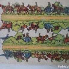 Coleccionismo Recortables: LA TIJERA SERIE 10 ARTILLERIA ESPAÑOLA LIGERA Nº 24 SOLDADOS RECORTABLES Y MONTABLES. Lote 194516906