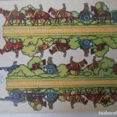 Coleccionismo Recortables: -LA TIJERA SERIE 10 ARTILLERIA ESPAÑOLA LIGERA Nº 24 SOLDADOS RECORTABLES Y MONTABLES. Lote 194527032