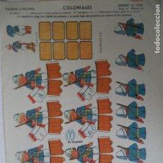 Coleccionismo Recortables: LA TIJERA SOLDADOS DE VOLUMEN SERIE 10 Nº 44. Lote 194600837