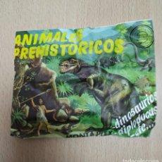 Coleccionismo Recortables: MONTAPLEX ANIMALES PREHISTORICOS 223 SOBRE SIN ABRIR. Lote 194909860