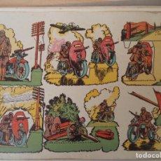 Coleccionismo Recortables: RECORTABLE MOTORISTAS SERIE B Nº 2. Lote 196881973
