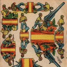 Coleccionismo Recortables: INTERESANTE LOTE DE 17 RECORTABLES MILITARES ANTIGUOS - DIFERENTES- 16 X 11 CENTÍMETROS. Lote 197677741