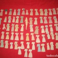 Coleccionismo Recortables: 155 RECORTABLES DE MUÑECAS DE LOS AÑOS 40. Lote 201258188