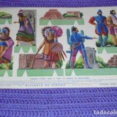 Coleccionismo Recortables: RECORTABLE HISTORIA DE ESPAÑA -. Lote 201981448