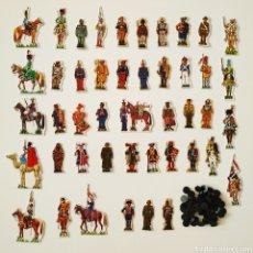Coleccionismo Recortables: 45 RECORTABLES SOLDADOS DE ESPAÑA - PHOSKITOS JOSE MARIA BUENO UNIFORMES CROMOS. Lote 202768530