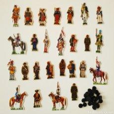 Coleccionismo Recortables: 26 RECORTABLES SOLDADOS DE ESPAÑA - PHOSKITOS JOSE MARIA BUENO UNIFORMES CROMOS. Lote 202769808