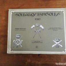 Coleccionismo Recortables: RECORTABLES LAMINAS SOLDADOS ESPAÑOLES 1910 PRIMER FASCICULO Nº31 A 37 Y55 A 57. Lote 203074205