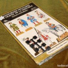 Coleccionismo Recortables: .RECORTABLE UNIFORMES MILITARES A TRAVÉS DE LA HISTORIA,COLECCIONABLE,EDICIONES MINOS,1980. Lote 207208806