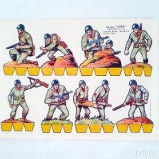 Coleccionismo Recortables: RECORTABLE SOLDADOS RECORTES CHIC EDITORIAL ROMA 14. Lote 209326380