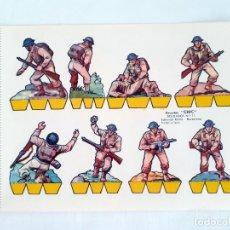 Coleccionismo Recortables: RECORTABLE SOLDADOS RECORTES CHIC EDITORIAL ROMA 11. Lote 209326890