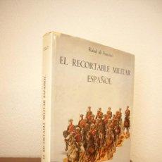 Coleccionismo Recortables: EL RECORTABLE MILITAR ESPAÑOL (PONIENTE, 1982) RAFAEL DE FRANCISCO. MUY BUEN ESTADO. GRAN FORMATO.. Lote 210472280