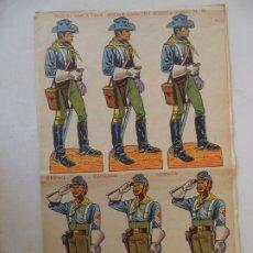 Coleccionismo Recortables: EDIZIONI MARCA STELLA CAVALLERIA NORDISTA Nº22. Lote 213148365