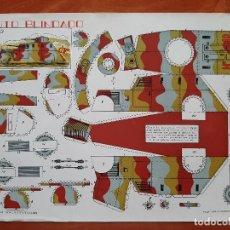 Collectionnisme Images à Découper: RECORTABLE AUTO BLINDADO. Lote 216818920