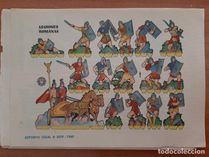 RECORTABLE LEGIONES ROMANAS (Coleccionismo - Recortables - Soldados)