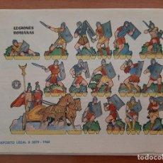 Coleccionismo Recortables: RECORTABLE LEGIONES ROMANAS. Lote 217533271