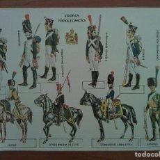 Coleccionismo Recortables: RECORTABLE TROPAS NAPOLEÓNICAS. Lote 219357136