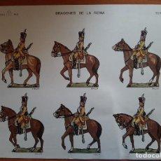 Coleccionismo Recortables: RECORTABLE DRAGONES DE LA REINA - Nº 5. Lote 221476863