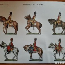 Coleccionismo Recortables: RECORTABLE DRAGONES DE LA REINA - Nº 1. Lote 221477045