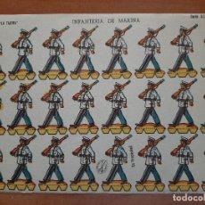 Coleccionismo Recortables: RECORTABLE : EDICIONES LA TIJERA INFANTERÍA DE MARINA SERIE ILUSIÓN Nº 48. Lote 297038778