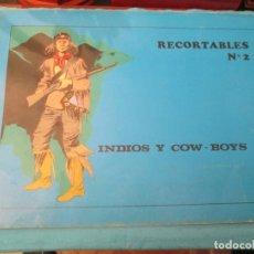 Coleccionismo Recortables: RECORTABLES SOL Nº 2 INDIOS Y COWBOYS. Lote 223746145