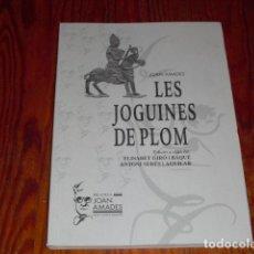 Coleccionismo Recortables: LES JOGUINES DE PLOM - AÑO 2000. Lote 224771132