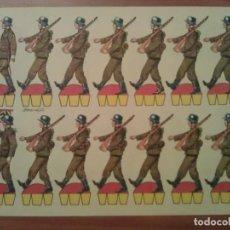 Coleccionismo Recortables: RECORTABLE KIKI LOLO SOLDADOS Nº 7. Lote 225349686