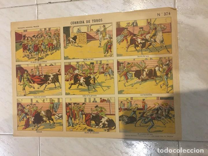 Coleccionismo Recortables: ESTAMPERÍA PALUZIE, RECORTABLES TEMAS TAURINOS. - Foto 2 - 227550120