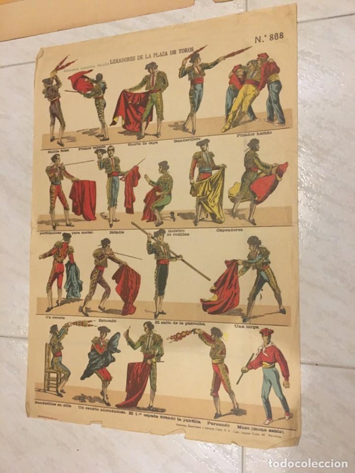 Coleccionismo Recortables: ESTAMPERÍA PALUZIE, RECORTABLES TEMAS TAURINOS. - Foto 3 - 227550120